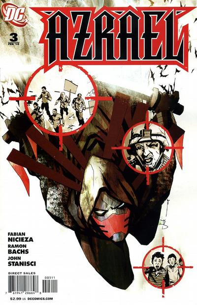 Cover for Azrael (DC, 2009 series) #3