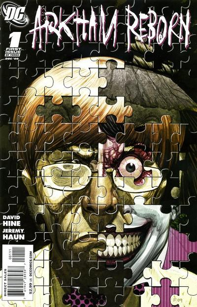 Cover for Arkham Reborn (DC, 2009 series) #1