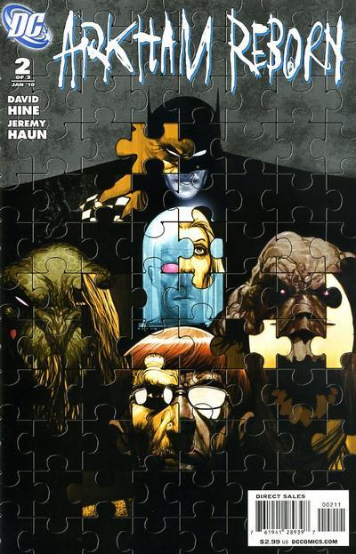 Cover for Arkham Reborn (DC, 2009 series) #2