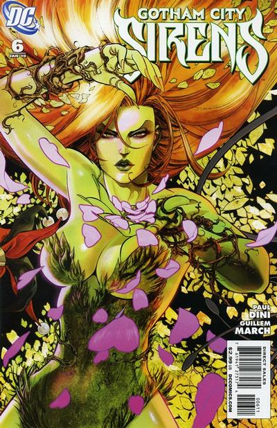 Cover for Gotham City Sirens (DC, 2009 series) #6