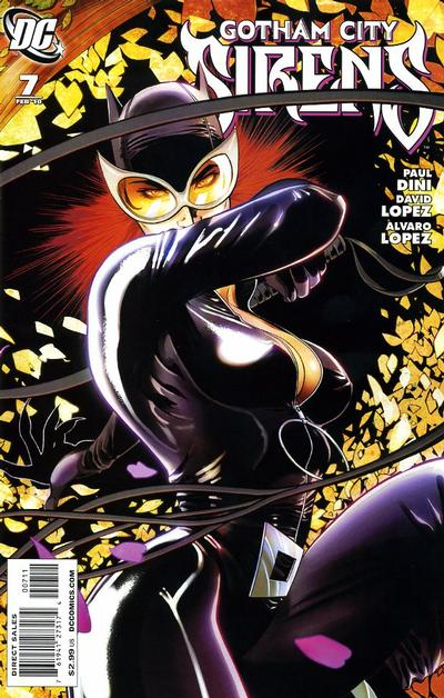 Cover for Gotham City Sirens (DC, 2009 series) #7