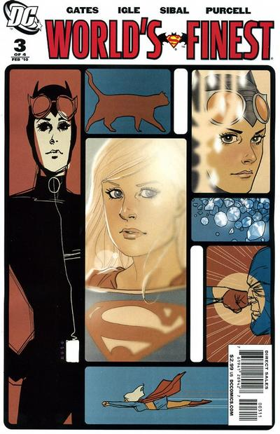 Cover for World's Finest (DC, 2009 series) #3 [Cover B]