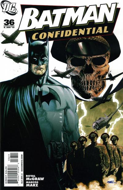 Cover for Batman Confidential (DC, 2007 series) #36