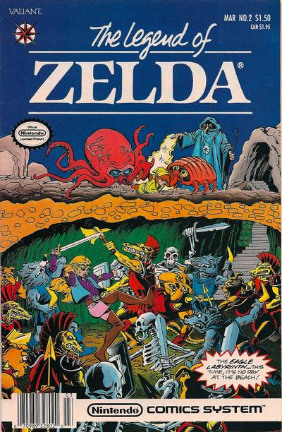 Cover for The Legend of Zelda (Acclaim / Valiant, 1991 series) #2