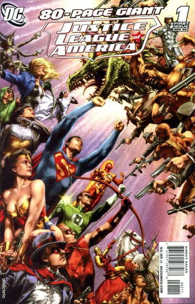 Cover for Justice League of America 80 Page Giant (DC, 2009 series) #1