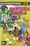 Cover for La Pantera Negra (Editorial OEPISA, 1974 series) #48