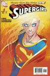 Cover for Supergirl (DC, 2005 series) #1 [Direct Sales - Michael Turner Cover]