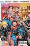 Cover for Justice League of America (DC, 2006 series) #7 [Left Side of Cover]
