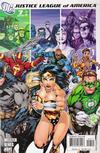 Cover for Justice League of America (DC, 2006 series) #7 [Right Side of Cover]