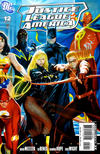 Cover for Justice League of America (DC, 2006 series) #12 [Direct Sales - Right Side of Cover]