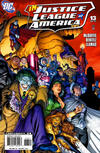 Cover for Justice League of America (DC, 2006 series) #13 [Right Side of Cover]