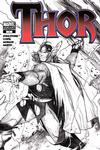 Cover for Thor (Marvel, 2007 series) #1 [Sketch Variant Cover]