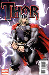 Cover for Thor (Marvel, 2007 series) #1 [2nd Printing Variant Cover]