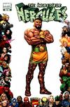 Cover for Incredible Hercules (Marvel, 2008 series) #133 [Marvel 70th Anniversary Border]