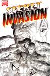 Cover Thumbnail for Secret Invasion (2008 series) #1 [Steve McNiven Variant Sketch Cover]
