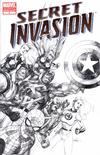 Cover Thumbnail for Secret Invasion (2008 series) #1 [Third Printing Sketch Cover]