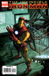 Cover for Invincible Iron Man (Marvel, 2008 series) #2 [2nd Printing]