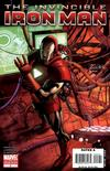 Cover for Invincible Iron Man (Marvel, 2008 series) #3 [2nd Printing]