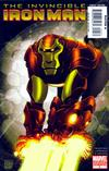 Cover for Invincible Iron Man (Marvel, 2008 series) #5 [Limited Monkey Variant Cover]