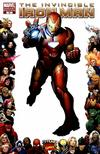 Cover for Invincible Iron Man (Marvel, 2008 series) #16 [Marvel 70th Anniversary Border]