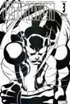 Cover for Ultimatum (Marvel, 2009 series) #3 [Variant Edition - Black-and-White]