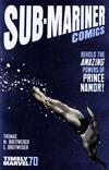 Cover Thumbnail for Sub-Mariner Comics 70th Anniversary Special (2009 series) #1 [Variant Edition]