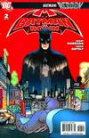 Cover for Batman and Robin (DC, 2009 series) #2 [2nd Printing - Red Background]