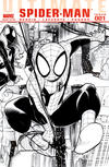 Cover Thumbnail for Ultimate Spider-Man (2009 series) #1 [Black And White Variant Cover]