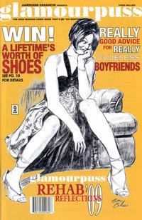 Cover for glamourpuss (Aardvark-Vanaheim, 2008 series) #9
