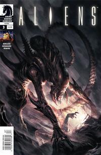 Cover for Aliens (Dark Horse, 2009 series) #3