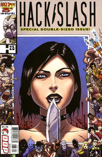 Cover Thumbnail for Hack/Slash: The Series (Devil's Due Publishing, 2007 series) #25 [Cover A Tim Seeley]