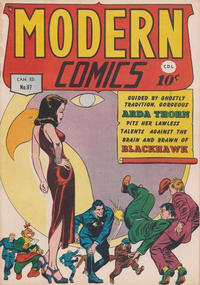 Cover Thumbnail for Modern Comics (Bell Features, 1949 series) #97