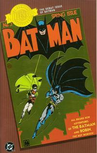 Cover Thumbnail for Millennium Edition: Batman No. 1 (DC, 2001 series) #[Chromium Edition]