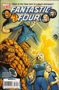 Cover Thumbnail for Fantastic Four (Marvel, 1998 series) #570 [Direct Edition]