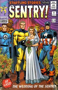 Cover Thumbnail for New Avengers (Marvel, 2005 series) #8 [John Romita Variant Cover]