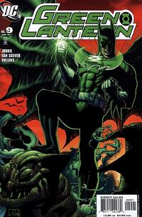 Cover Thumbnail for Green Lantern (DC, 2005 series) #9 [Ethan Van Sciver Cover]