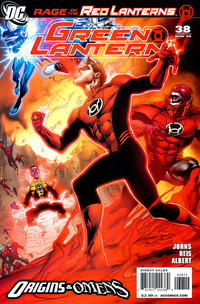 Cover Thumbnail for Green Lantern (DC, 2005 series) #38 [Second Printing]