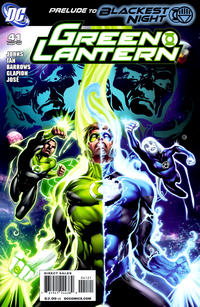 Cover Thumbnail for Green Lantern (DC, 2005 series) #41 [Eddy Barrows Cover]