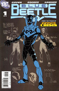 Cover Thumbnail for The Blue Beetle (DC, 2006 series) #1 [First Printing]
