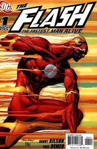 Cover Thumbnail for Flash: The Fastest Man Alive (DC, 2006 series) #1 [Andy Kubert / Joe Kubert Cover]