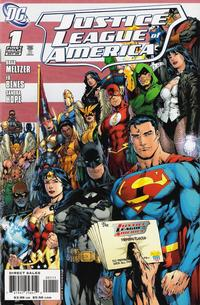 Cover Thumbnail for Justice League of America (DC, 2006 series) #1 [Ed Benes / Mariah Benes Cover - Right Side]