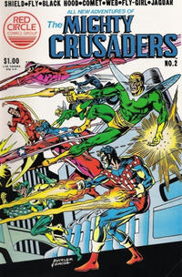 Cover Thumbnail for The Mighty Crusaders (Archie, 1983 series) #2