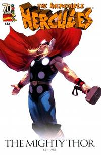 Cover Thumbnail for Incredible Hercules (Marvel, 2008 series) #132 [Marvel 70th Anniversary]