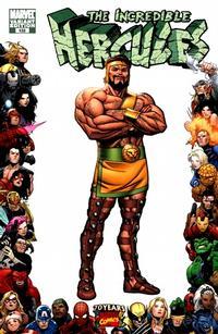 Cover Thumbnail for Incredible Hercules (Marvel, 2008 series) #133 [Marvel 70th Anniversary Border]