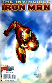 Cover for Invincible Iron Man (Marvel, 2008 series) #1 [Salvador Larroca Cover]