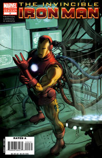 Cover Thumbnail for Invincible Iron Man (Marvel, 2008 series) #2 [2nd Printing]