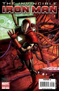 Cover Thumbnail for Invincible Iron Man (Marvel, 2008 series) #3 [2nd Printing]
