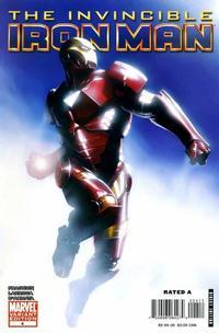Cover for Invincible Iron Man (Marvel, 2008 series) #4 [Salvador Larroca Standard Cover]