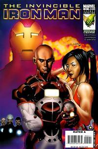 Cover Thumbnail for Invincible Iron Man (Marvel, 2008 series) #5 [Salvador Larroca Cover]