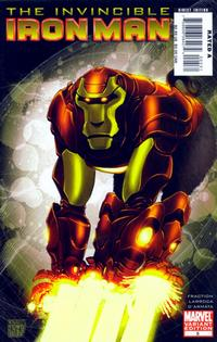 Cover for Invincible Iron Man (Marvel, 2008 series) #5 [Ryan Meinerding Variant Cover]